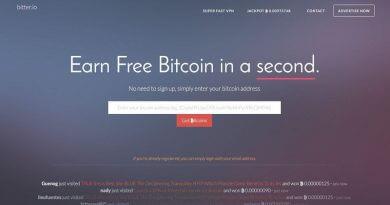 Bitter.io – Kiếm bitcoin miễn phí bằng cách Click quảng cáo