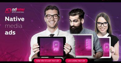 Hướng dẫn đăng ký & kiếm tiền với quảng cáo Adnow từ A-Z
