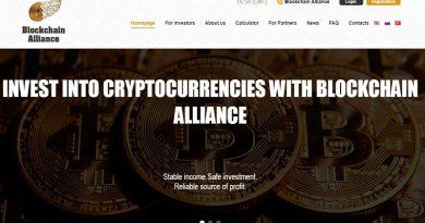 [Review] Blockchain-Alliance – Lãi từ 12% mỗi tháng– Min 100 USD – Hoàn vốn cuối chu kỳ