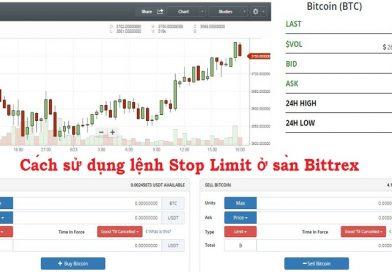Hướng dẫn sử dụng Stop Limit trên sàn Bittrex