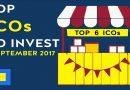 Top 6 ICO đáng chú ý sắp ra mắt trong tháng 9