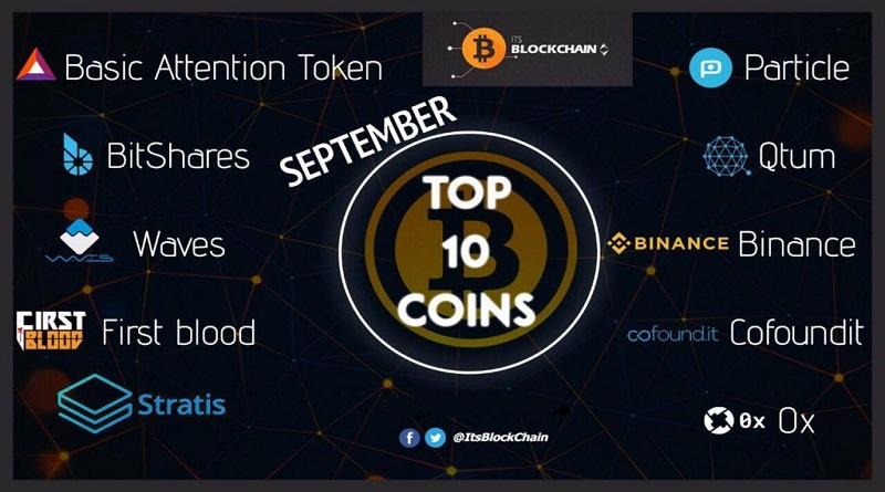 Top 10 Altcoin tiềm năng nên đầu tư trong tháng 9