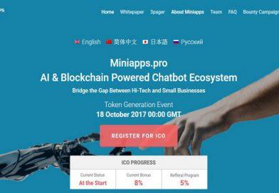 [Review ICO] Miniapps nền tảng Chatbot toàn cầu