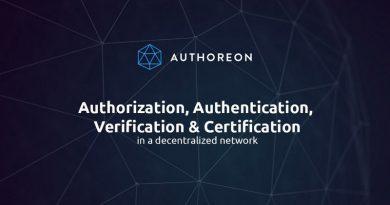 [ICO News] Authoreon – Nền tảng ủy quyền và xác thực sử dụng công nghệ Blockchain