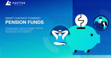 [ICO news] Auctus – Hợp đồng thông minh cho quỹ lương hưu