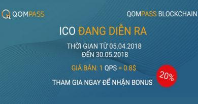 [ICO Review] Qompass – Thị trường tài chính trên Blockchain