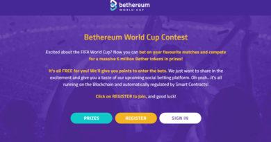 [QC] Đặt cược World Cup miễn phí với Bethereum