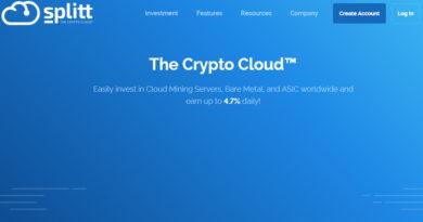 [HYIP Listing] Splitt.co – Dự án đầu tư lãi từ 2.64 – 4.7% hàng ngày