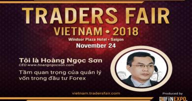 Hội chợ thương mại và Gala dành cho các Trader tại Việt Nam