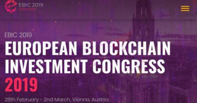 [PR] European Blockchain Investment Congress 2019: Đưa các chuyên gia, nhà đầu tư và các StartUp lại với nhau