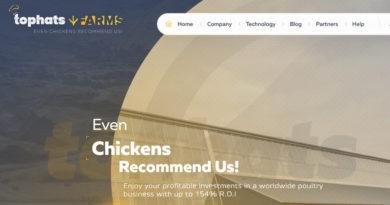 [HYIP Review] Tophats.farm – Lãi upto 7% Daily, ROI 154%, Thanh toán tức thì