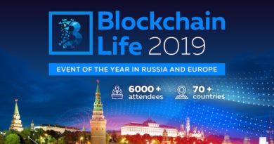 Blockchain Life 2019 diễn ra tại Moscow vào ngày 16, 17 tháng 10
