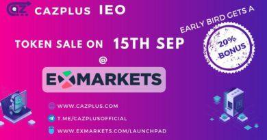 [IEO Review] CazPlus – Thông tin chi tiết dự án IEO trên Exmarkets Launchpad