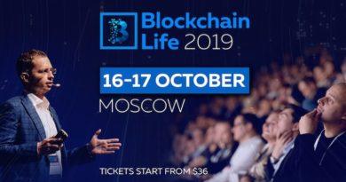[Press Release] Diễn đàn Blockchain Life 2019 chào đón hơn 6000 người tham dự và các công ty hàng đầu tại Moscow