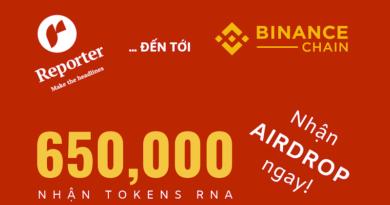 [IDO Review] Reporter hồi sinh với ứng dụng blockchain mới và mã Token RNA trên Binance DEX