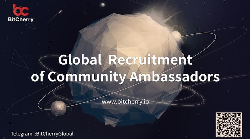 Tuyển dụng toàn cầu của Đại sứ cộng đồng BitCherry