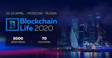 Blockchain Life 2020 chào đón 5000 người tham gia và các công ty hàng đầu của ngành vào ngày 22-23