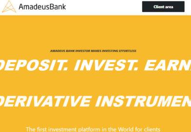 [HYIP Review] AmadeusBank.com – Lãi 3.5% hàng ngày, trả lãi hàng ngày, cho rút vốn