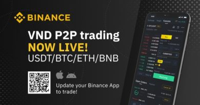 Binance bổ sung giao dịch P2P fiat-to-crypto với Việt Nam đồng (VND)