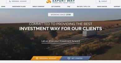[HYIP Review] Exway.pro – Lãi từ 6-9% Daily Forever – Rút tiền tức thì