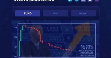 [Dapp Review] STONK SIMULATOR – Một nền kinh tế mô phỏng dựa trên Tron Network
