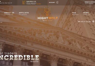 [HYIP Review] Hightwolf – Gói lãi đa dạng từ 1.2% hàng ngày