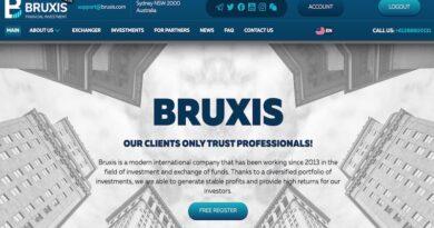 [HYIP Review] Bruxis: Lãi up 2.7% ngày làm việc, hoàn vốn đầu tư