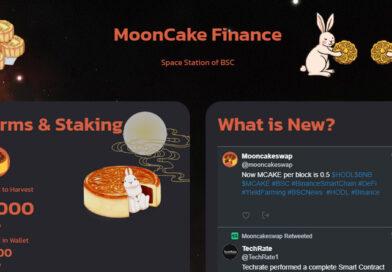 Review Mooncake Swap – Sàn giao dịch phi tập trung thế hệ mới